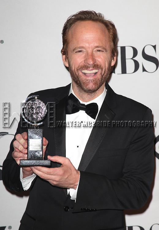 John Benjamin Hickey.in the Press Room at The 65th Annual Tony Awards in New York City.