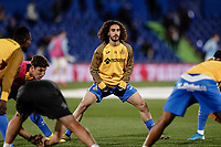 7th March 2020; Coliseum Alfonso Perez, Madrid, Spain; La Liga Football, Club Getafe Club de Futbol versus Celta Vigo; Marc Cucurella (Getafe CF)  Pre-match warm-up