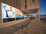 Public art project, Wet Dock urban redevelopment project, Ipswich, England
