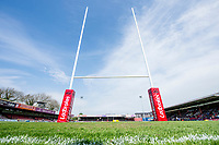 Picture by Allan McKenzie/SWpix.com - 22/04/2018 - Rugby League - Ladbrokes Challenge Cup - York City Knight v Catalans Dragons - Bootham Crescent, York, England - The Ladbrokes Challenge Cup comes to York City Knight's Bootham Crescent.