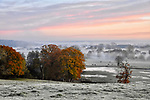 WEATHER INPUT - SATURDAY 9th Novemeber 2019<br /> <br /> Pictured: A frosty and misty start to the day in Romsey, Hampshire.  <br /> <br /> Please byline: Natasha Weyers/Solent News<br /> <br /> © Natasha Weyers/Solent News & Photo Agency<br /> UK +44 (0) 2380 458800