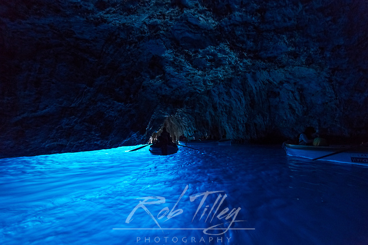 Europe, Italy, Isle of Capri, Blue Grotto