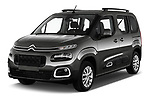 2019 Citroen Berlingo Feel 5 Door MPV angular front stock photos of front three quarter view