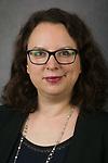 Andrea Wynne, Director of Leadership Giving, Advancement, DePaul University, is pictured in a studio portrait Sept. 27, 2017. (DePaul University/Jeff Carrion)