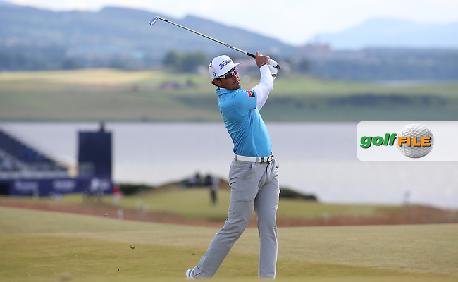 Rafa Cabrera-Bello (ESP) during Round Two of the 2016 Aberdeen Asset Management Scottish Open, played at Castle Stuart Golf Club, Inverness, Scotland. 08/07/2016. Picture: David Lloyd | Golffile.<br /> <br /> All photos usage must carry mandatory copyright credit (&copy; Golffile | David Lloyd)