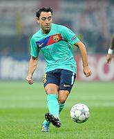 FUSSBALL   CHAMPIONS LEAGUE   SAISON 2011/2012     23.11.2011 AC Mailand - FC Barcelona Xavi Hernandez (Barca)