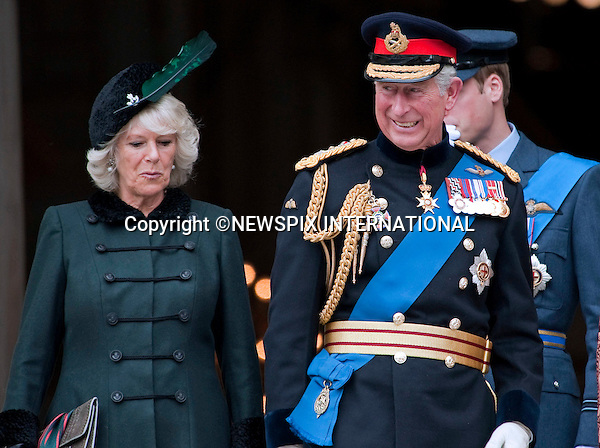 """PRINCES CHARLES AND CAMILLA,  DUCHESS OF CORNWALL.attended the Service of Commemoration to mark the end of combat operations in Iraq in St Paul's Catherdral, London_09/10/2009.Mandatory Photo Credit: ©Dias/Newspix International..**ALL FEES PAYABLE TO: """"NEWSPIX INTERNATIONAL""""**..PHOTO CREDIT MANDATORY!!: NEWSPIX INTERNATIONAL(Failure to credit will incur a surcharge of 100% of reproduction fees)..IMMEDIATE CONFIRMATION OF USAGE REQUIRED:.Newspix International, 31 Chinnery Hill, Bishop's Stortford, ENGLAND CM23 3PS.Tel:+441279 324672  ; Fax: +441279656877.Mobile:  0777568 1153.e-mail: info@newspixinternational.co.uk"""