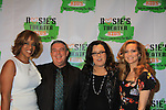 Gayle King and Elvis Duran pose with All My Children Rosie O'Donnell and wife Michelle Rounds host her Annual BUILDING DREAMS FOR KIDS GALA on October 15, 2012 at the New York Marriott Marquis. The event raised $850.000. An online auction still going on. Rosie's Theater Kids is an arts education organization dedicated to enrighing the lives of children through the art.   (Photo by Sue Coflin/Max Photos)