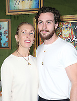 4 October 2018-  Hollywood, California - Sam Taylor-Johnson, Aaron Taylor-Johnson, HBO Films' &quot;My Dinner With Herve&quot; Premiere held at Paramount Studios. <br /> CAP/ADM/FS<br /> &copy;FS/ADM/Capital Pictures