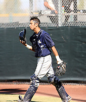Michael Garciaparra / Milwaukee Brewers 2008 Instructional League..Photo by:  Bill Mitchell/Four Seam Images