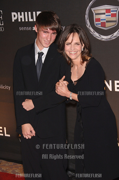 Actress SALLY FIELD & son SAM at the 13th Annual Premiere Magazine Women in Hollywood gala at the Beverly Hills Hotel..September 20, 2006  Los Angeles, CA.© 2006 Paul Smith / Featureflash