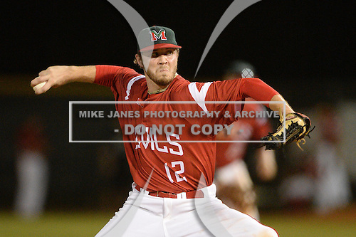 Mississippi Valley State Delta Devils Shawn Wiseman (12) during a game against the Ball State Cardinals on February 21, 2014 at North Charlotte Regional Park in Port Charlotte, Florida.  Ball State defeated Mississippi Valley 12-1.  (Copyright Mike Janes Photography)