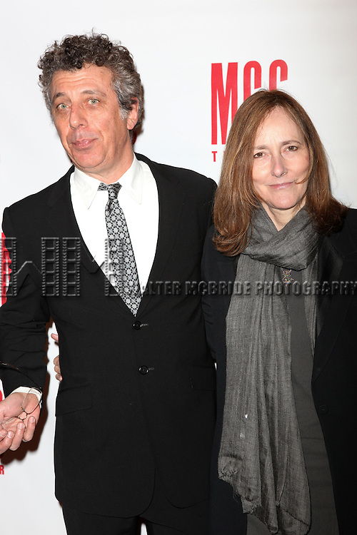 Eric Bogosian & Jo Bonney.attending the MISCAST 2011 MCC Theater's Annual Musical Gala in New York City.