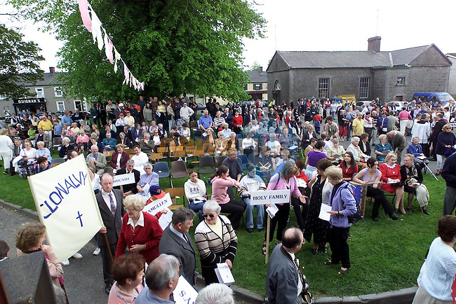 Part of the crowd at the Duleek Jubilee on Sunday..Picture Paul Mohan Newsfile