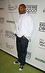 LOS ANGELES, CA. - February 05: Rapper Warren G  arrives at the Black Eyed Peas Peapod Foundation benefit concert presented by Adobe Youth Voices inside the Conga Room at the Nokia Theatre L.A. Live on February 5, 2009 in Los Angeles, California.
