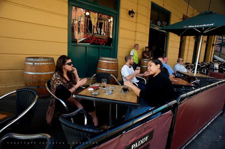 Hay Street Sydney, street life
