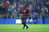 CARY, NC - DECEMBER 13: Ousseni Bouda #11 of Stanford University during a game between Stanford and Georgetown at Sahlen's Stadium at WakeMed Soccer Park on December 13, 2019 in Cary, North Carolina.