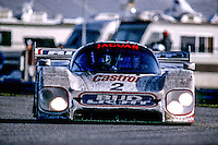 #2 Jaguar XJR-12D of Raul Boesel, Derek Warwick, Scott Pruett and Davy Jones, 30th place finish, 1991 24 Hours of Daytona, Daytona International Speedway, Daytona Beach, FL, February 5, 1978.  (Photo by Brian Cleary/www.bcpix.com)