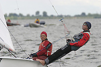 20th SPA Regatta - Medemblik.26-30 May 2004..Copyright free image for editorial use. Please credit Peter Bentley..Paul Forester - USA