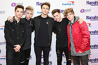 PHILADELPHIA, PA - DECEMBER 6 :  Why Don't We pictured back stage at Q102's Jingle Ball at a meet and greet at the Wells Fargo Center in Philadelphia, Pa on December 6, 2017  ***HOUSE COVERAGE Credit: Star Shooter / MediaPunch /nortephoto.com NORTEPHOTOMEXICO