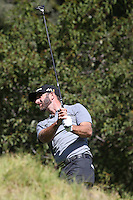 February 20, 2016:  Dustin Johnson during the third round of the Northern Trust Open, Pacific Palisades,CA. Michael Zito/ESW/CSM