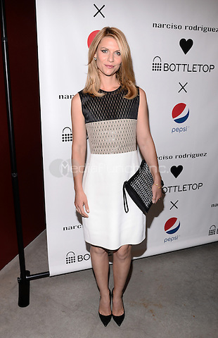 NEW YORK, NY - MAY 8, 2014:  Claire Danes Pictured at the Narciso Rodriguez (heart) Bottletop Collection x Pepsi® U.S. Launch, in New York City  on May 8,  2014  RTNPluvious/MediaPunch