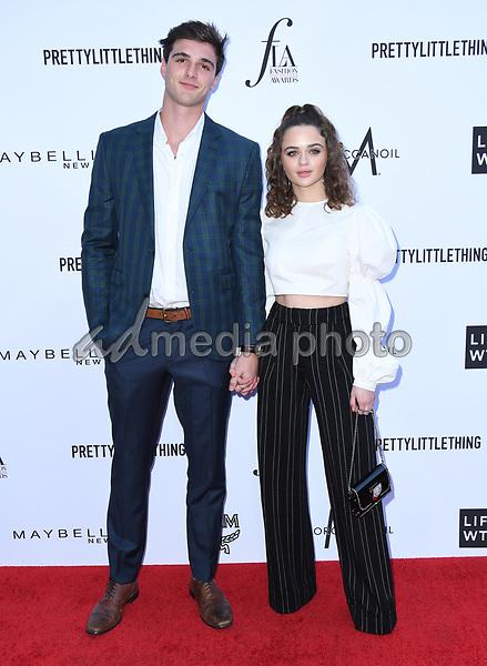 08 April 2018 - Beverly Hills, California - Jacob Elord, Joey King. The Daily Front Row's 4th Annual Fashion Los Angeles Awards held at The Beverly Hills Hotel. Photo Credit: Birdie Thompson/AdMedia