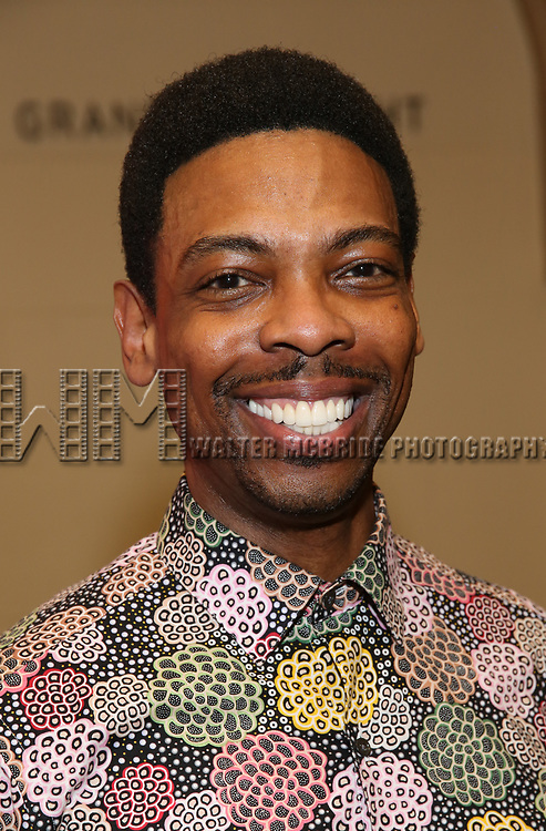 "Michael Benjamin Washington attends the closing Night performance reception for Encores! ""Call Me Madam"" at City Center on February 10, 2019 in New York City."