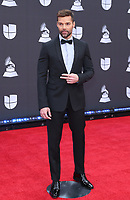 14 November 2019 - Las Vegas, NV - Ricky Martin. 2019 Latin Grammy Awards Red Carpet Arrivals at MGM Grand Garden Arena. Photo Credit: MJT/AdMedia