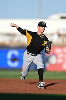Bradenton Marauders pitcher Chad Kuhl (36) delivers a pitch during a game against the Charlotte Stone Crabs on April 4, 2014 at Charlotte Sports Park in Port Charlotte, Florida.  Bradenton defeated Charlotte 9-1.  (Mike Janes/Four Seam Images)