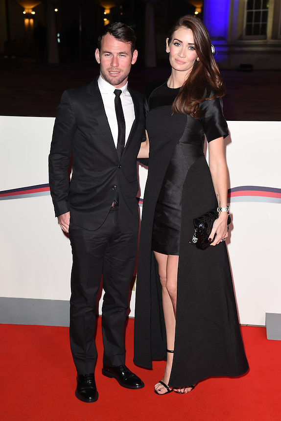 Mark and Peta Cavendish<br /> at the Millies 2016, Guildhall, London.<br /> <br /> <br /> ©Ash Knotek  D3212  14/12/2016