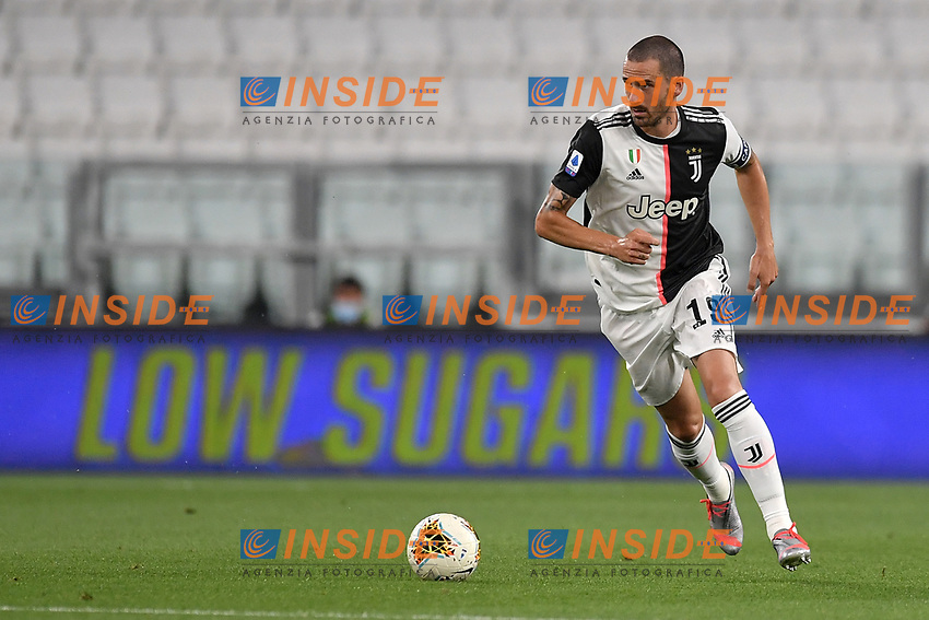 Leonardo Bonucci of Juventus in action during the Serie A football match between Juventus FC and US Lecce at Juventus stadium in Turin  ( Italy ), June 26th, 2020. Play resumes behind closed doors following the outbreak of the coronavirus disease. Photo Andrea Staccioli / Insidefoto