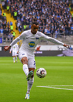 Valentino Lazaro (Hertha BSC Berlin) - 27.04.2019: Eintracht Frankfurt vs. Hertha BSC Berlin, 31. Spieltag Bundesliga, Commerzbank Arena DISCLAIMER: DFL regulations prohibit any use of photographs as image sequences and/or quasi-video.