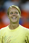 14 July 2004: Lori Lindsey. The Washington Freedom defeated the Nottingham Forest Ladies 8-0 at RFK Stadium in Washington, DC during an exhibition matched played to honor the Freedom's 2002 WUSA championship..