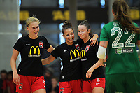 2019 Women's Futsal SuperLeague tournament final between Canterbury United Pride and Capital Futsal at ASB Sports Centre in Wellington, New Zealand on Sunday, 17 February 2019. Photo: Dave Lintott / lintottphoto.co.nz