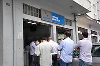 SÃO PAULO, SP, 25.11.2015 - MEGA-SENA - Movimentação em casa lotérica no bairro do Campo Belo na região sul de São Paulo nesta quarta-feira, 25. A Mega-sena esta acumulada em R$ 200 milhões. (Foto : Renato Gizzi / Brazil Photo Press)
