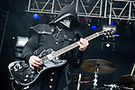 Ghost B.C. performs during the 2013 Rock On The Range festival at Columbus Crew Stadium in Columbus, Ohio.