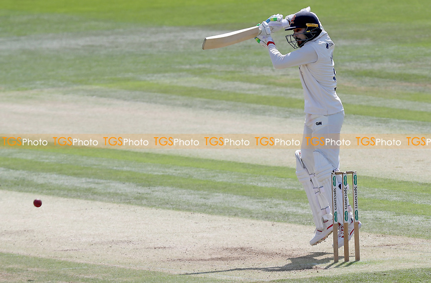 Mohammed Amir of Essex in batting action during Kent CCC vs Essex CCC, Specsavers County Championship Division 1 Cricket at the St Lawrence Ground on 20th August 2019