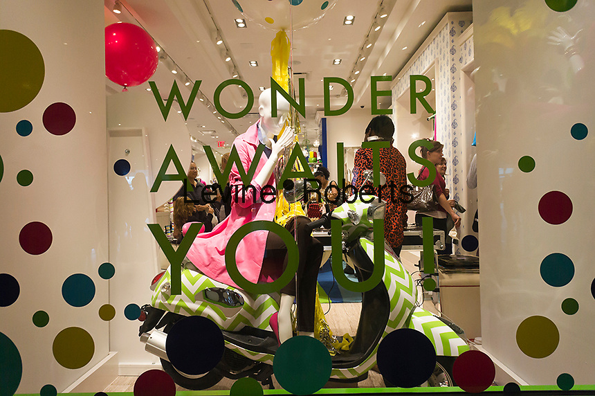 "Grand opening of  the C. Wonder store in the Time Warner Center in New York on Saturday, September 22, 2012. The store, the company's second, was created by venture capitalist Christopher Burch, former husband of the designer Tory Burch and sells ""preppy"" style merchandise. Ms. Burch has complained that the designs in the store are similar to hers, selling at about one third the price, and has threatened legal action. (© Richard B. Levine)"