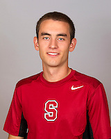 Jamin Ball, with the Stanford Men's Tennis Team. Photo taken on Monday, September 23, 2013.