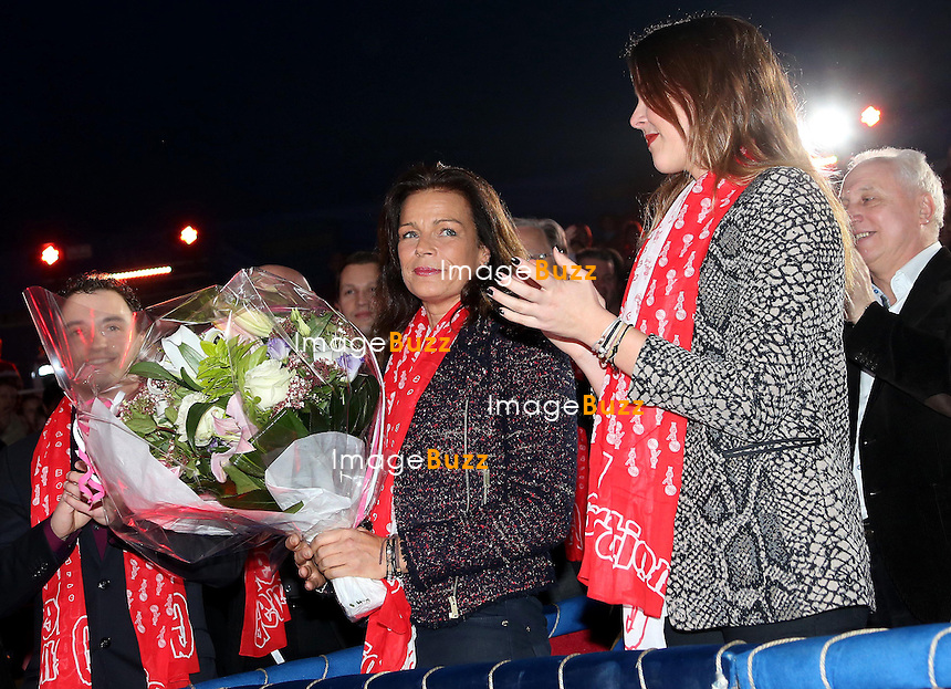 CPE/February 2, 2013-H. S. H. Princess Stephanie of Monaco and her daughter Pauline Ducruet attend the opening of the 2nd New Generation Monte-Carlo Circus Festival. Princess Stephanie received flowers as gift for her birthday (February 1st) from the artists of the circus.PRINCESS STEPHANIE OF MONACO - BIRTHDAY GIFT - February 2, 2013-H. S. H. Princess Stephanie of Monaco and her daughter Pauline Ducruet attend the opening of the 2nd New Generation Monte-Carlo Circus Festival. Princess Stephanie received flowers as gift for her birthday (February 1st) from the artists of the circus.PRINCESS STEPHANIE OF MONACO - BIRTHDAY GIFT - February 2, 2013-H. S. H. Princess Stephanie of Monaco and her daughter Pauline Ducruet attend the opening of the 2nd New Generation Monte-Carlo Circus Festival. Princess Stephanie received flowers as gift for her birthday (February 1st) from the artists of the circus.PRINCESS STEPHANIE OF MONACO - BIRTHDAY GIFT - February 2, 2013-H. S. H. Princess Stephanie of Monaco and her daughter Pauline Ducruet attend the opening of the 2nd New Generation Monte-Carlo Circus Festival. Princess Stephanie received flowers as gift for her birthday (February 1st) from the artists of the circus.