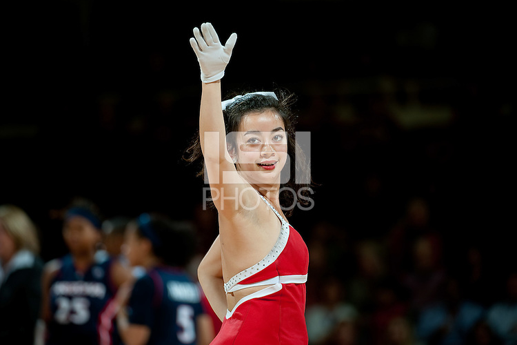 STANFORD, CA - JANUARY 6: Dollies at Maples Pavilion, January 6, 2011 in Stanford, California.