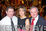 Club secratary Frank Reidy, PRO Bridget Quaid and Rory O'Donnell, club treasurer enjoying the Castlemahon GAA Social last Saturday night in The Devon Inn, Templeglantine.