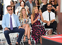 Will Arnett, Guest, Jennifer Aniston, Justin Theroux at the Hollywood Walk of Fame Star Ceremony honoring actor Jason Bateman. Los Angeles, USA 26 July 2017<br /> Picture: Paul Smith/Featureflash/SilverHub 0208 004 5359 sales@silverhubmedia.com