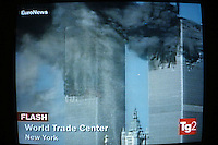 L' attentato alle Torri Gemelle.Twin towers attack..