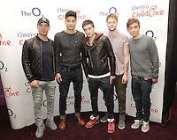 20/11/13<br /> The Wanted, band members (L-R)Max George, Siva Kaneswaran ,Tom Parker, Jay McGuiness and Nathan Sykes and who will be performing Cheerios Childline Concert at the O2 Dublin this evening&hellip;.<br /> Pic Collins Photos