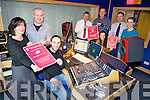 Getting ready for the annual Radio Kerry Christmas Auction are staff from the station Melanie O'Sullivan, Trevor Galvin, Andrew Morrissey, Paul Byrne (CEO), Jerry O'Sullivan, Pat Reidy, Anna Strug and Aine Brennan.
