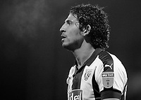 West Bromwich Albion's Ahmed Hegazy in action<br /> <br /> Photographer David Shipman/CameraSport<br /> <br /> The EFL Sky Bet Championship - West Bromwich Albion v Leeds United - Saturday 10th November 2018 - The Hawthorns - West Bromwich<br /> <br /> World Copyright © 2018 CameraSport. All rights reserved. 43 Linden Ave. Countesthorpe. Leicester. England. LE8 5PG - Tel: +44 (0) 116 277 4147 - admin@camerasport.com - www.camerasport.com