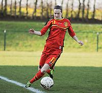 U19 Belgian Red Flames - Austria :<br /> <br /> Elke Van Gorp<br /> <br /> foto Dirk Vuylsteke / Nikonpro.be
