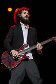 Linkin Park - lead guitarist Brad Delson performing live on Day Two on the main stage at the Download Festival 2007 held at Donington Park Leicestershire UK - 09 Jun 2007.  Photo Credit: Ben Rector/IconicPix